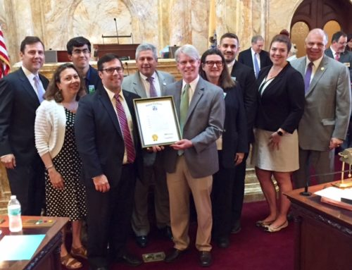 NJ Keep It Green Coalition Receives Recognition from NJ Senate